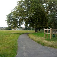 Photo taken at Midsummer Common by Alexey F. on 9/2/2012