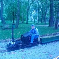 Photo taken at Mini Railroad by Abbey K. on 9/8/2012