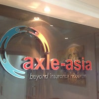Photo taken at Axle Asia - insurance broker by Helmy H. on 8/16/2012