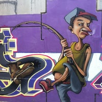 Photo taken at Puente De Los Graffitis by Dani G. on 6/7/2012