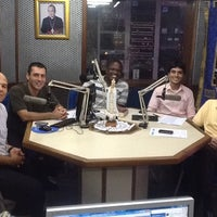 Photo taken at Rádio Catedral by Leonardo G. on 3/24/2012