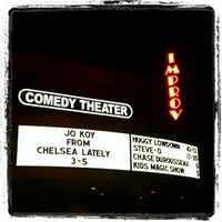 Photo taken at Improv Comedy Theater by Erica C. on 5/6/2012