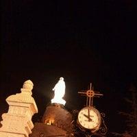 Photo taken at Notre Dame du Liban Harissa by Elyse A. on 8/12/2012
