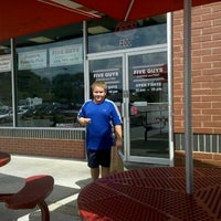 Photo taken at Five Guys by Ed F. on 8/29/2012
