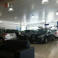 Photo taken at Peugeot Mont Blanc by Leonardo d. on 2/29/2012