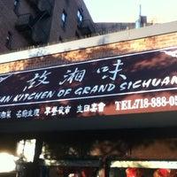 Photo taken at Hunan Kitchen Of Grand Sichuan by Benjamin M. on 6/15/2012