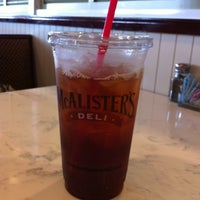 Photo taken at McAlister's Deli by Hilary G. on 5/29/2012