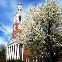 Photo taken at UVM Ira Allen Chapel by Ali K. on 4/17/2012