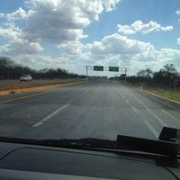 Photo taken at Carretera Merida - Uxmal by Matette S. on 3/15/2012