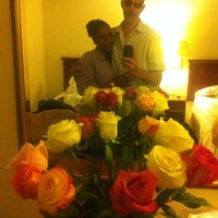 Photo taken at La Quinta Inn Clearwater Central by Mike M. on 4/19/2012