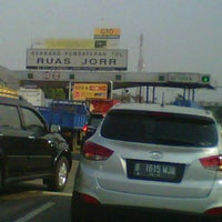 Photo taken at Jalan Tol Lingkar Luar Jakarta Seksi W2 Selatan (JORR W2 S) by Atik W. on 9/1/2012