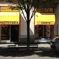 Photo taken at Pasticceria Dante by Fabio M. on 4/25/2012