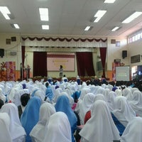 Photo taken at SMK Kem Terendak by Amirah on 3/7/2012