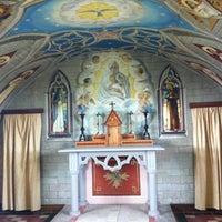 Photo taken at Italian Chapel by Karin H. on 7/11/2012