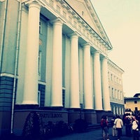 Photo taken at University of Tartu main building by Anna A. on 8/9/2012