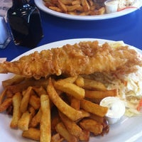 Photo taken at Captain George Fish & Chips by Ron D. on 5/10/2012