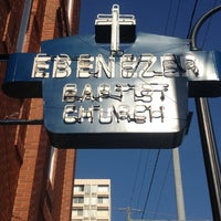 Photo taken at Ebenezer Baptist Church by Jose H. on 6/28/2012
