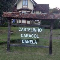 Photo taken at Castelinho Caracol by Adri B. on 4/8/2012