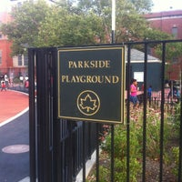 Photo taken at Parkside Playground by Lisa♥ D. on 7/10/2012