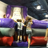 Photo taken at Bounce U by Amy T. on 6/20/2012