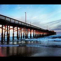 Photo taken at Newport Pier by Scott A. on 5/6/2012
