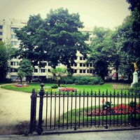 Photo prise au Square de Meeûs par Gabriel F. le7/31/2012