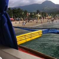 Photo taken at Boat ride to Batangas by yuriquiachan q. on 4/8/2012