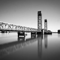 Photo taken at Rio Vista Bridge by Robert P. on 4/4/2012