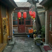 Photo taken at The Hutong 胡同 by Sarah P. on 3/18/2012