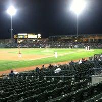 Photo taken at Stockton Ballpark by Keith A. on 9/1/2012
