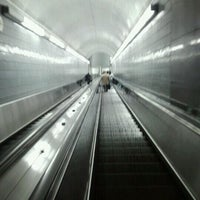 Photo taken at MARTA - Peachtree Center Station by Brandon L. on 2/9/2012