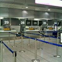 Photo taken at Terminal 3 by Iain M. on 6/23/2012