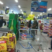 Photo taken at Carrefour Bairro by Carlos B. on 5/6/2012