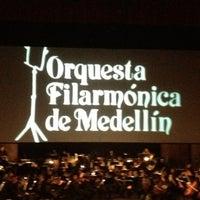Photo taken at Teatro Metropolitano by Julian T. on 6/23/2012