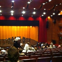 Photo taken at Teatro Municipal de Las Condes by Crhistopher S. on 4/17/2012