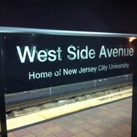Photo taken at NJT - West Side Avenue Light Rail Station by Hov4Short on 2/2/2012
