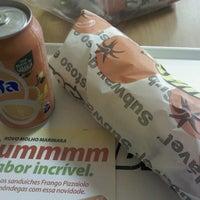 Photo taken at Subway by Barbara A. on 6/15/2012