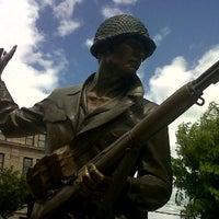 Photo taken at New Jersey World War II Memorial by Summer H. on 5/10/2012