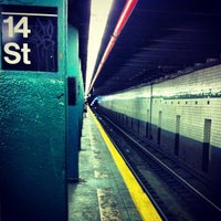 Photo taken at MTA Subway - 14th St/Union Square (4/5/6/L/N/Q/R/W) by Artur S. on 5/21/2012