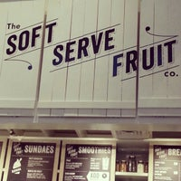 Photo taken at Chloe's Soft Serve Fruit Co. by Caitlin S. on 7/24/2012