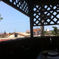 Photo taken at Buka Restaurant by vytas p. on 7/20/2012