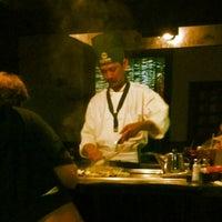 Photo taken at Fujiyama Steak House of Japan by Thomas H. on 6/8/2012