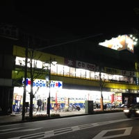 Photo taken at BOOKOFF 本厚木駅前大通り店 by MAYUKI on 4/16/2012