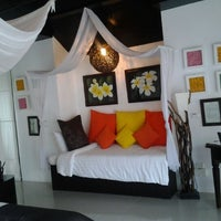 Photo taken at Dhevan Dara Resort & Spa by June A. on 7/20/2012