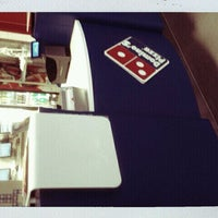 Photo taken at Domino's Pizza by Zuza S. on 4/23/2012