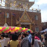 Photo taken at Wat Buddha Thai Thavorn Vanaram by Tony J. on 4/15/2012