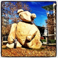 Photo taken at Bear Statue by Drew C. on 6/21/2012
