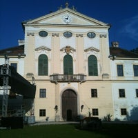 Photo taken at Schloss Kirchstetten by Filip S. on 8/2/2012