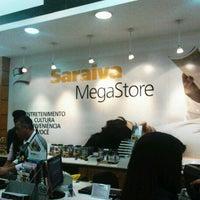 Photo taken at Saraiva MegaStore by Clau T. on 7/9/2012