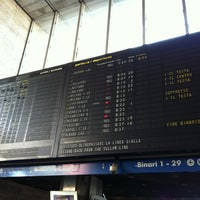 Photo taken at Stazione Roma Casilina by Karine P. on 4/28/2012